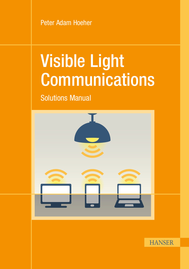 Visible Light Communications: Solutions Manual